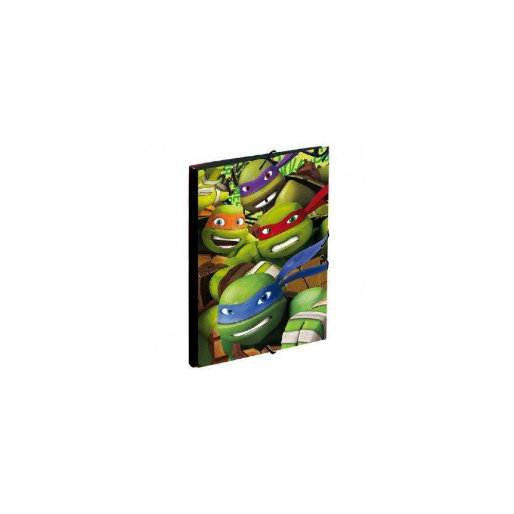 Carpeta de Gomas Tortuga Ninja Ready: Amazon.es: Juguetes y ...