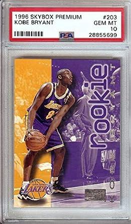 Amazoncom Kobe Bryant 1996 Skybox Premium Rc Rookie Card A