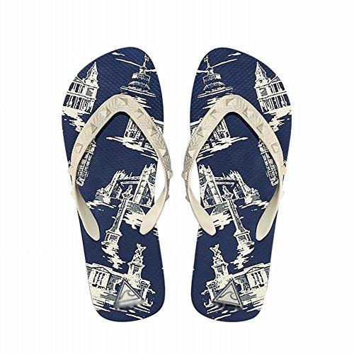 suola e ZPD sandali indossa con uomo da gomma La antiscivolo A spiaggia infradito classici in infradito da q57gw5