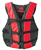 High Visibility Coast Guard Approved Life Jackets for the Whole Family (Super Large Red)