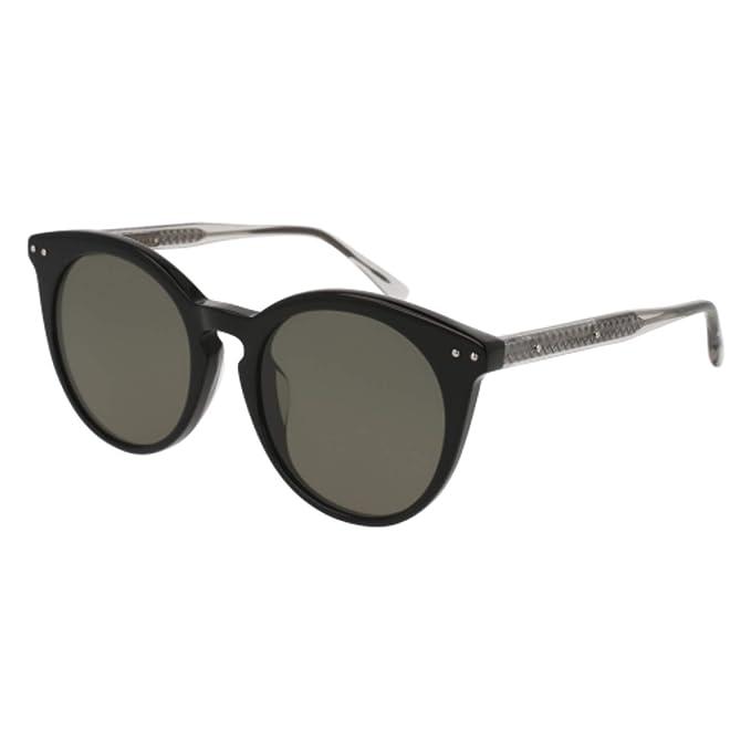 c366c4faf8b63 Sunglasses Bottega Veneta BV 0096 SA- 004 BLACK   GREY  Amazon.ca  Clothing    Accessories