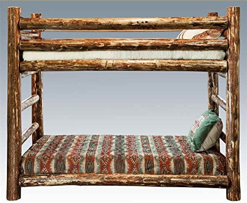 Montana Woodworks Glacier Country Collection Twin Over Twin Bunk Bed