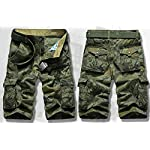 Panegy Adultes Combat Shorts pour Homme/Garçon Coton Bermudas Treillis Militaire Cargo Armée Pantalon de Travail… 9