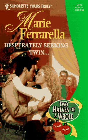 book cover of Desperately Seeking Twin....