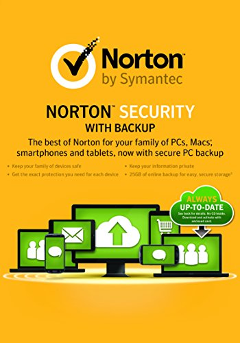 Norton Security with Backup (For 10 Devices) for Students [Download] by Symantec