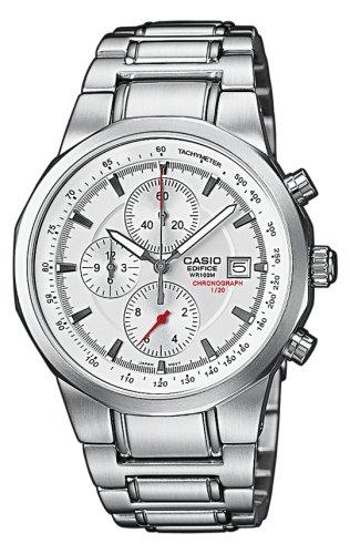 8324715b6803 CASIO Edifice EF-508D-7AVEF - Reloj de Cuarzo con Correa de Acero  Inoxidable para Hombre