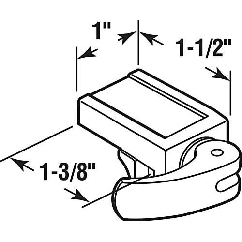 Prime Line Products U 10547 Sliding Window Sliding Door Lock 1 1
