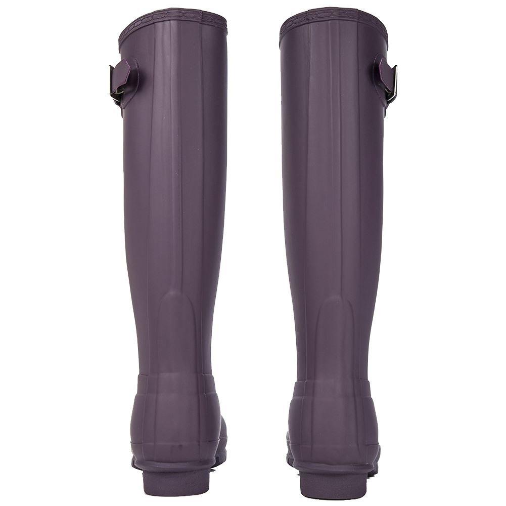 Hunter Women's Original Tall Purple Urchin Knee-High Rubber Rain Boot - 7M