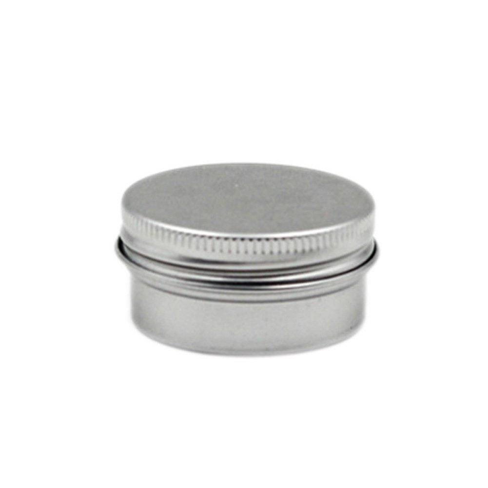 f5679df58faa ACE 10PCS New Aluminium Lip Balm Pots Makeup Cosmetic Cream Jar Pot Bottle  Container