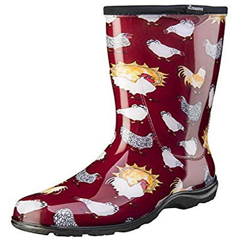 Sloggers Women's Waterproof Rain and Garden Boot with Comfort Insole