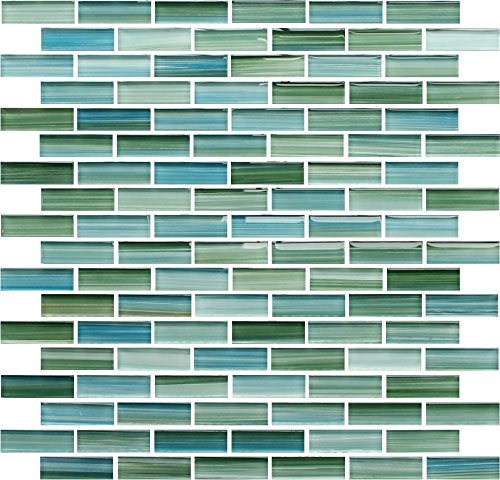 Sample Green Painted Mosaic Subway product image