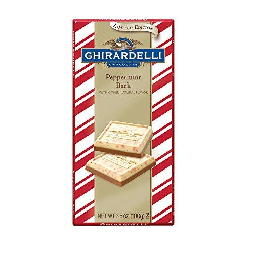 Chocolate Peppermint Peppermint Bark (Ghirardelli Peppermint Bark Milk Chocolate Bar,3.5 oz, Pack of)