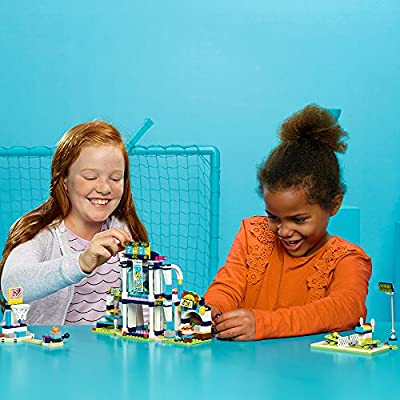 LEGO Friends Stephanie's Sports Arena 41338 Building Set (460 Piece): Toys & Games