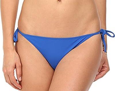 Stella McCartney Womens Timeless Basics Tie Side Bikini Bottom