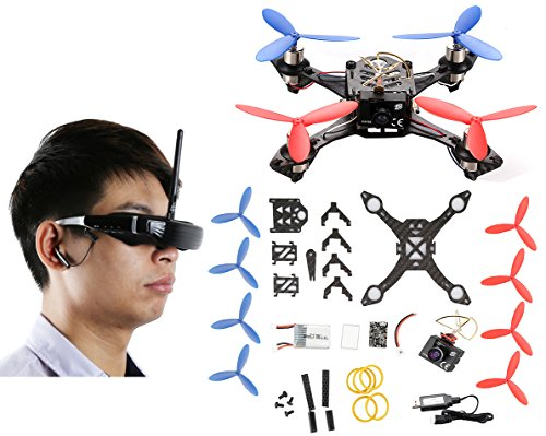 AICase-Cheerson-TINY-117-Mini-FPV-DIY-Racing-Quadcopter-Drone-Kit-with-VR-Glasses-58G-700-TVL-HD-Camera-Based-On-F3EVO-Flight-Controller