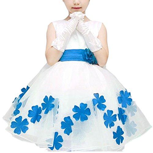 Price comparison product image Astage Big Girls` Princess Party Chorus Dress Size 16 Color Blue