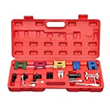 Festnight 19 pcs Engine Universal Timing Locking Car Tool Engine Timing Adjustment Locking Tool Kit