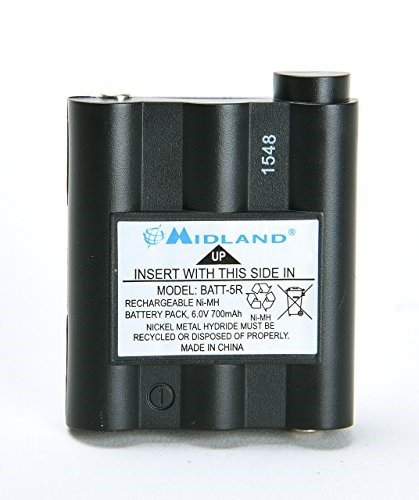 Midland Original BATT5R AVP7 for GXT Walkie Talkie (GXT1000 GXT1050 GXT850 GXT860 GXT900 GXT950, and More)