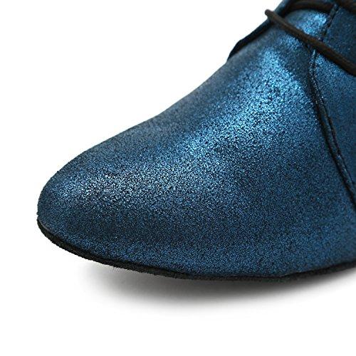 Minitoo - salón mujer Blue-4cm Heel