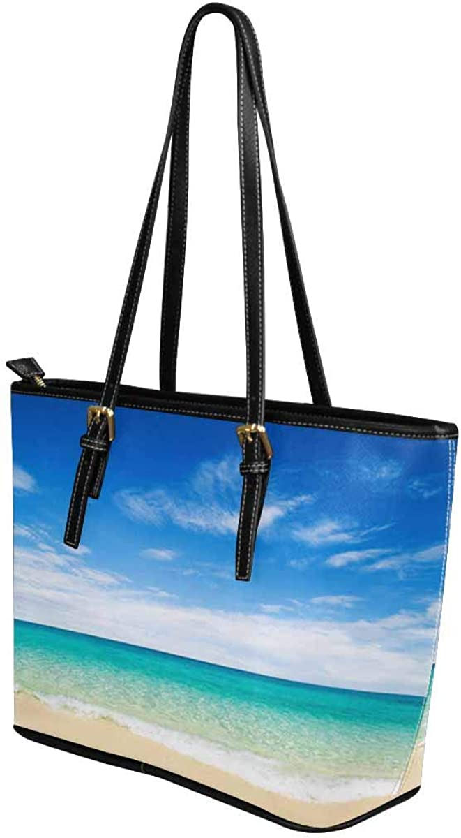 InterestPrint Top Handle Satchel HandBags Shoulder Bags Tote Bags Purse Beach