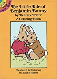 The Little Tale of Benjamin Bunny Coloring Book, Beatrix Potter and Julie S. Hasler, 0486262391