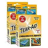 Tear-Aid Kit de reparación Tipo B de Vinilo bajo el Agua