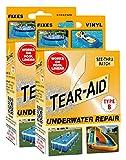 Tear-Aid Vinyl Underwater Repair Kit, Orange Box Type B