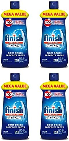Finish Jet-Dry - Abrillantador para lavavajillas, 23oz, agente de ...