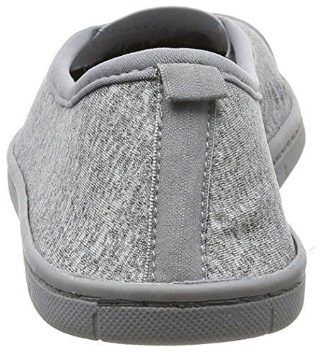 Dearfoams Ballerina, Zapatillas de Estar por Casa para Mujer Grey (Sleet)