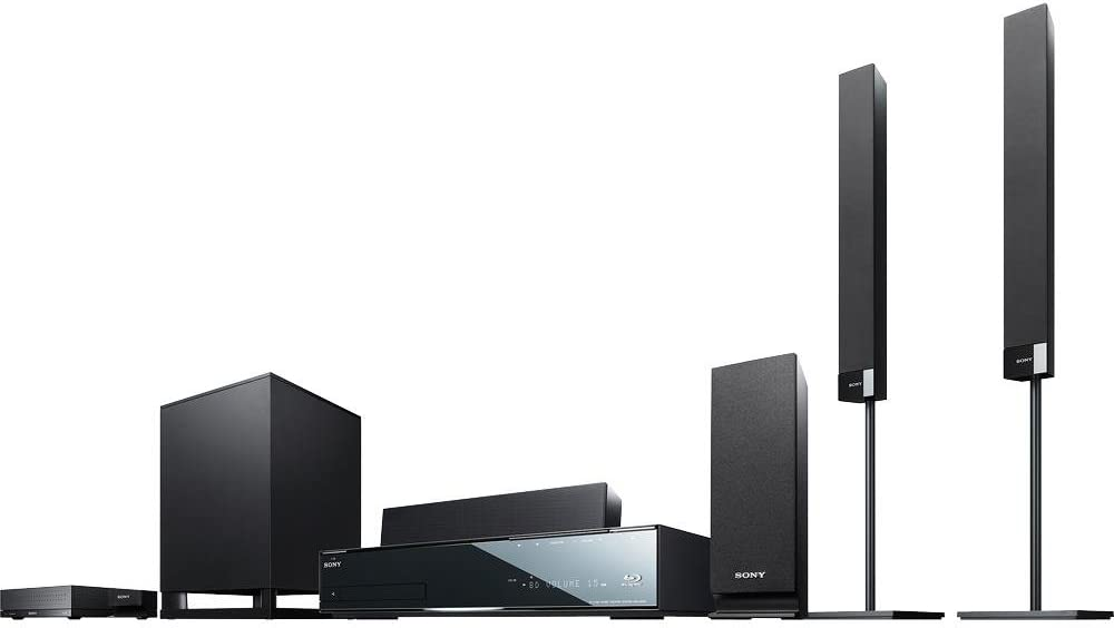 Sony BDV-HZ970W Blu-ray Home Theater System (Discontinued by Manufacturer)
