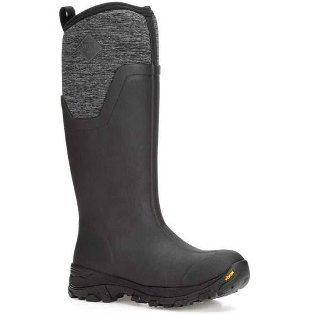 Muck Boot Women's Arctic Ice Tall Snow Boot Black/Heather Jersey 8 Regular US