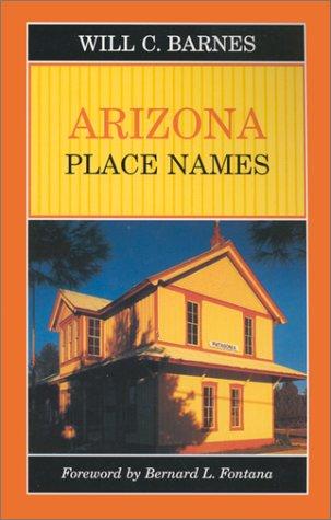 Arizona Place Names (Places Arizona)