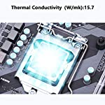 SYY-Thermal-Paste-2-Grams-CPU-Thermal-Paste-Thermal-Compound-Paste-Heatsink-for-ICProcessorCPUAll-Coolers-157Wmk-Carbon-Based-High-Performance-Thermal-Interface-Material-CPU-Paste
