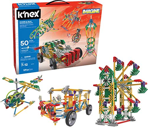 K'NEX Imagine - Power and Play Motorized Building Set - 529 Pieces - Ages 7 and Up - Construction Educational Toy