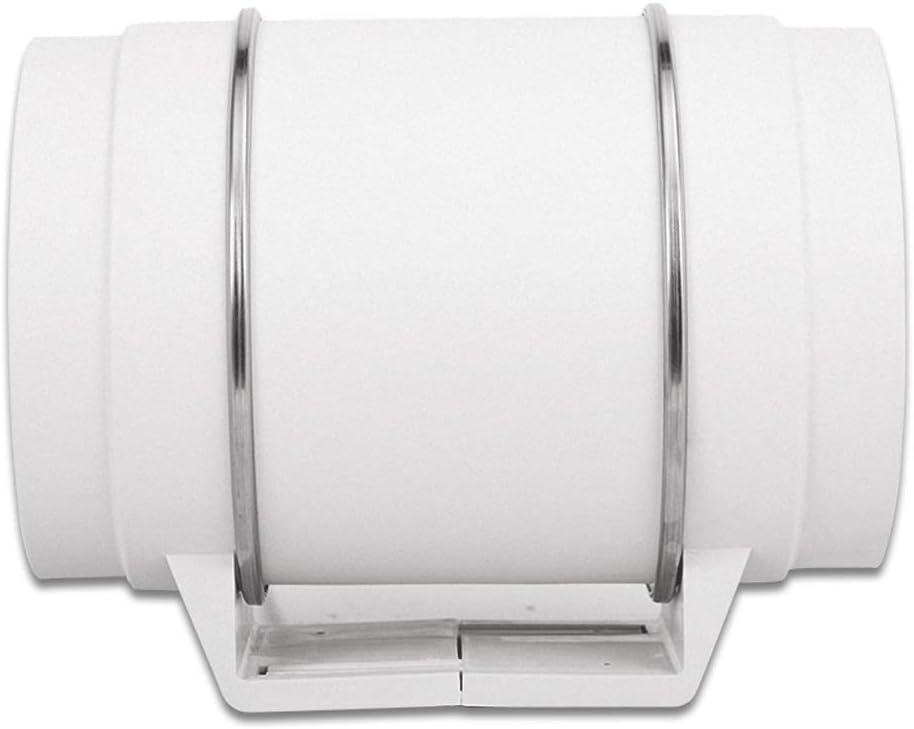 QIQIDEDIAN Tubo del ventilador de escape ventilador de 8 pulgadas para el hogar potente cocina silenciosa humo de ventilación ventilador de ventilación baño extractor ventilador extractor ventilador 2