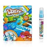 adventure-Water paint Coloring Book Magic Kids Water Drawing Book
