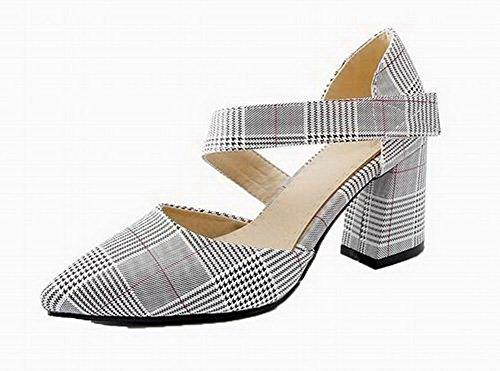 Punta Donna VogueZone009 Velcro Chiusa CCALLP013011 Rosso Sandali Colore Tacco Alto Assortito TETPSnRx