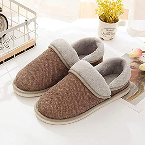Image Unavailable. Image not available for. Color  MAGA 1 Christmas Home  Slippers Women Winter Flip Flops Cotton Shoes ... e22a37a85714