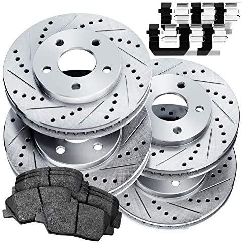 Fit 2013-2020 Nissan Altima PowerSport Full Kit Brake Rotors Kit+Ceramic Brake Pads