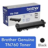 Brother Genuine Cartridge TN760 High Yield Black Toner: more info