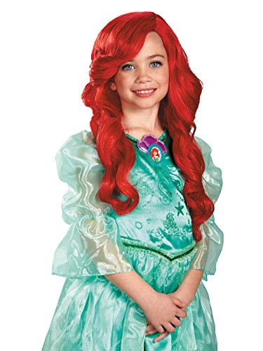 Disney Princess The Little Mermaid Ariel Child Wig]()
