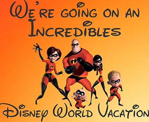 We're Going to Disney World The Incredibles 30 Piece Puzzle Walt Disney World Vacation Trip Announcement ()