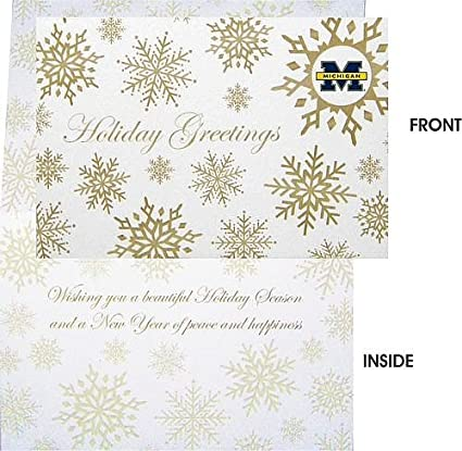 Amazon michigan wolverines holiday greeting cards univeristy of michigan wolverines holiday greeting cards univeristy of michigan holiday cards m4hsunfo