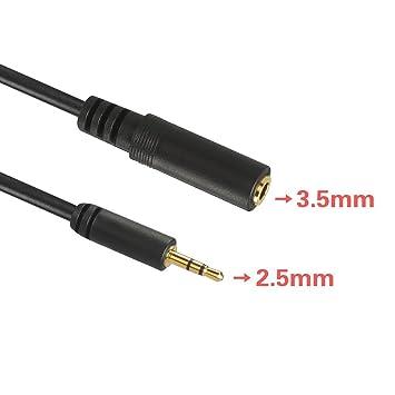 Lindy 35698premium Audio Kabel Klinkenstecker 2 5mm Klinke Männlich Auf 3 Kabel & Steckverbinder