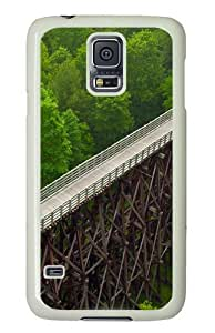 Samsung Galaxy S5 Case and Cover - Viaduct PC Hard Case Cover for Samsung Galaxy S5 White