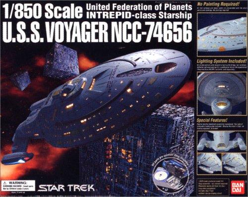 (Star Trek U.S.S.voyager Ncc-74656 1/850 Bandai)