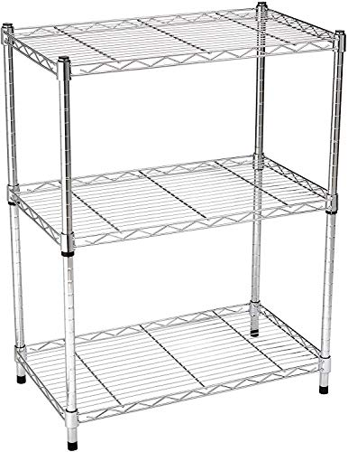 AmazonBasics 3-Shelf Adjustable Heavy