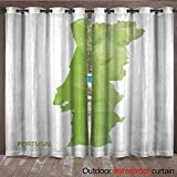 Product Description The Indoor/Outdoor Solid grommet top window curtain panels bring extra fashion and style to any outdoor living space. These polyester panels with a heavy duty canvas like feel drape beautifully and offer a UV Ray protectant and ar...
