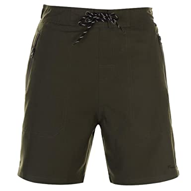 d0eb6fcae93 Pierre Cardin Mens Zip Swim Shorts Above Knee Length: Amazon.co.uk ...