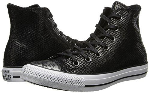 Star Adulte All Unisex Converse adulto Seasonal Taylor HI Nero Leather Sneaker Chuck rwtxUtnI